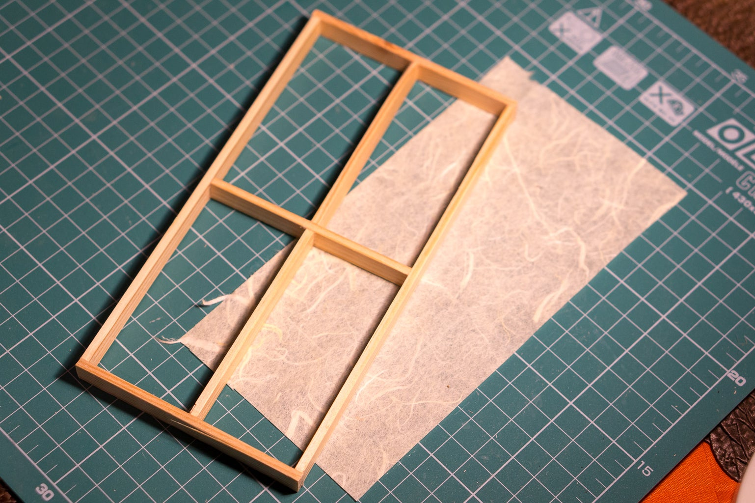 Put Paper on the Frames