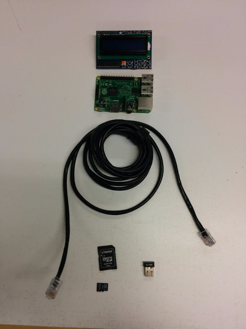 Materials and Setting Up the Pi