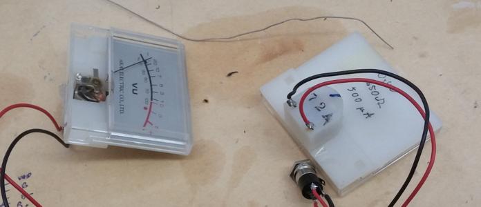 Finding Analog VU Dials
