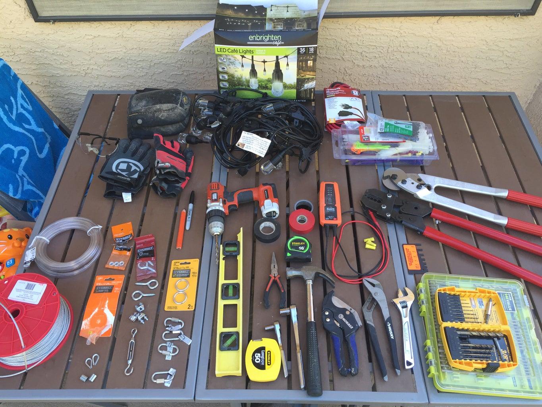 Checklist of Materials & Tools