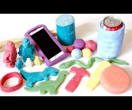 How to Make Rubber Toys (with Silicone & Corn Starch)