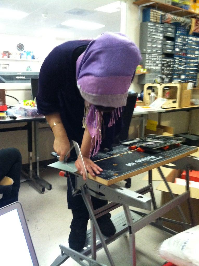 Create the Grape PCB & Glue Onto Wall