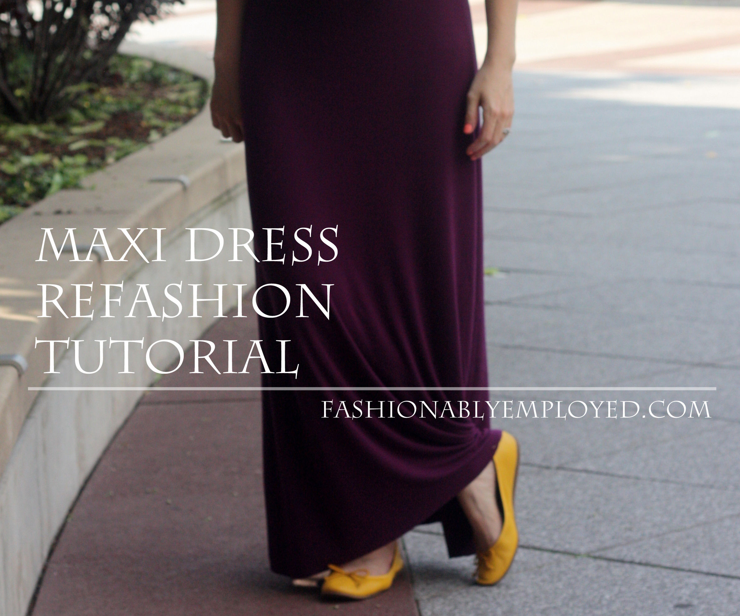 Refashioned Maxi Dress