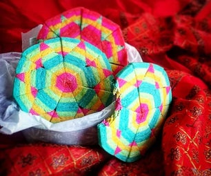 Sacred Geometry Aztec Cookie