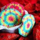 Sacred Geometry Aztec Cookie