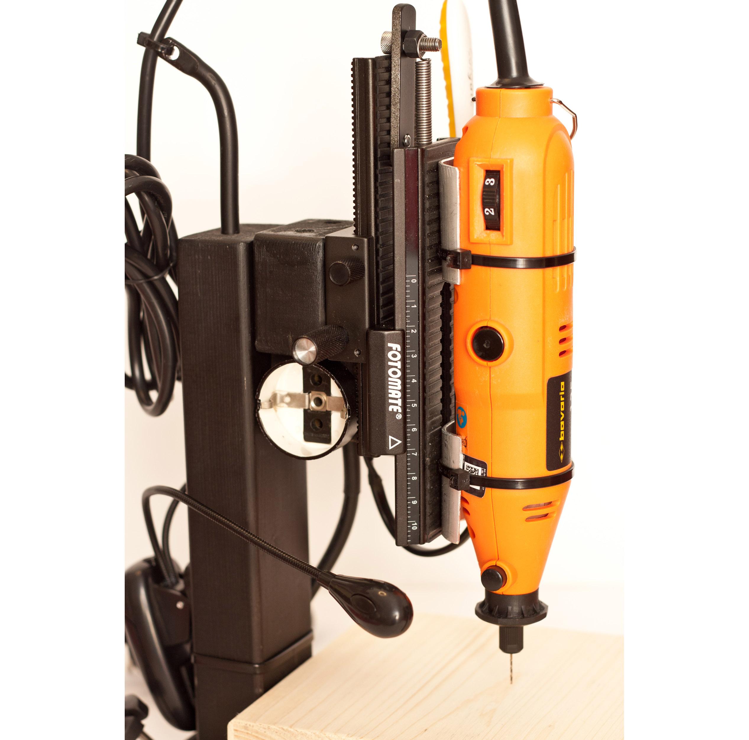 DIY column drill UPGRADES!