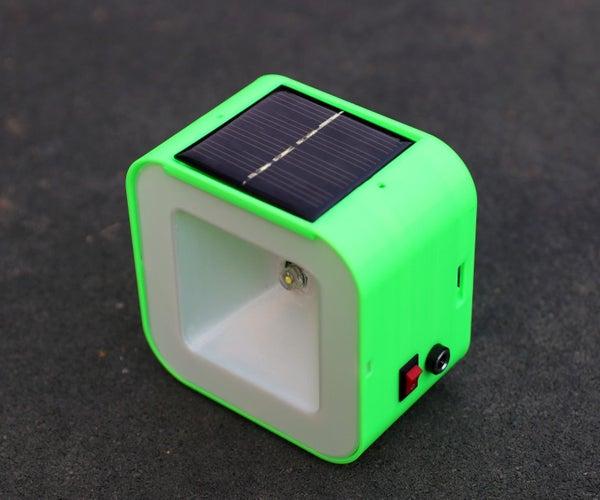 NOCTURNAL SOLAR LIGHT BULB V2.0