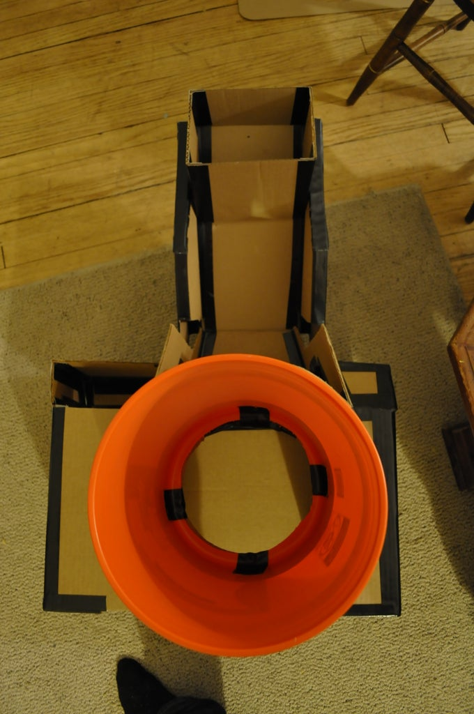 Mount the Lens (bucket)