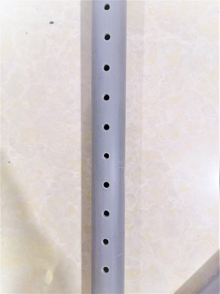 Make Multiples Holes in 40inch PVC Pipe