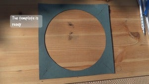 HOW TO MAKE a CARDBOARD TEMPLATE