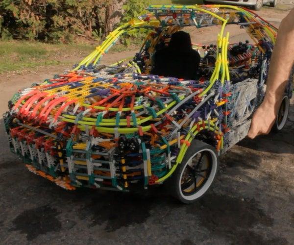 Big Mechanical K'nex Car