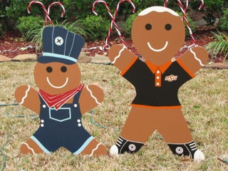 Gingerbread Man Christmas Yard Decoration Updated 7 Steps With Pictures Instructables