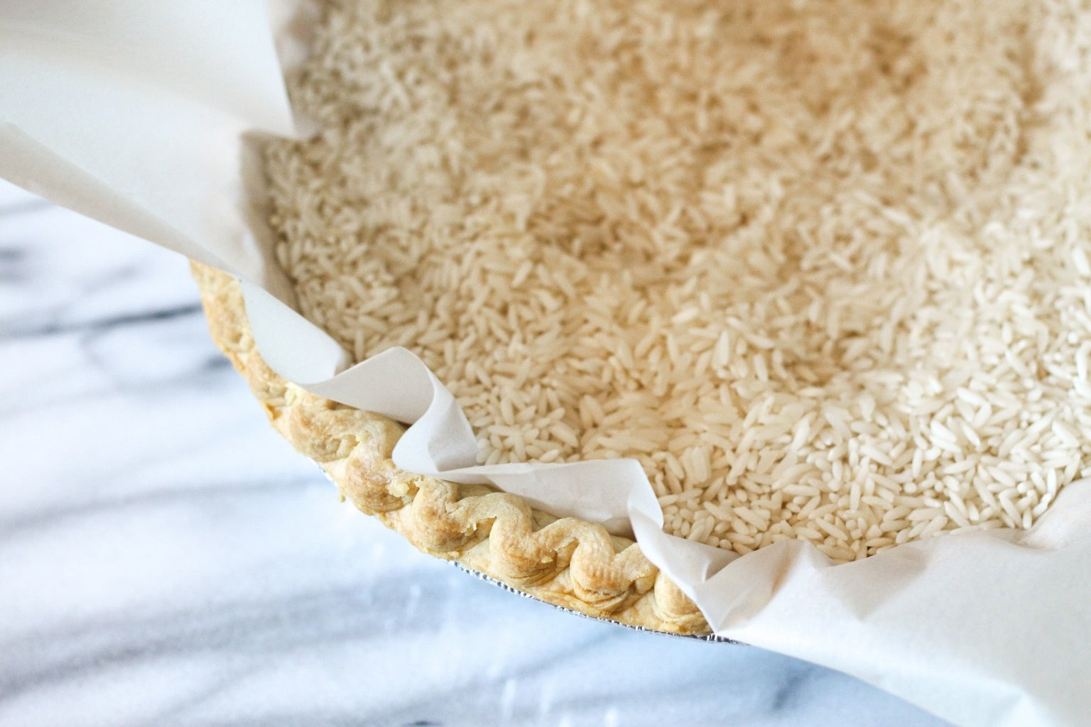 Blind Bake the Pie Crust
