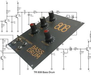 tr808低音鼓。模拟声音!