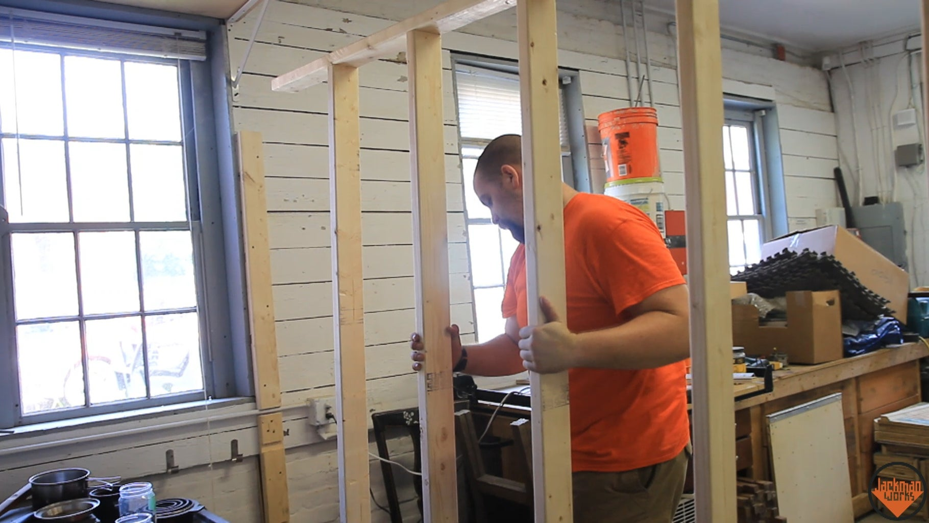 Building & Installing 1st Wall