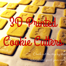 3D Printed Christmas Cookie Cutters