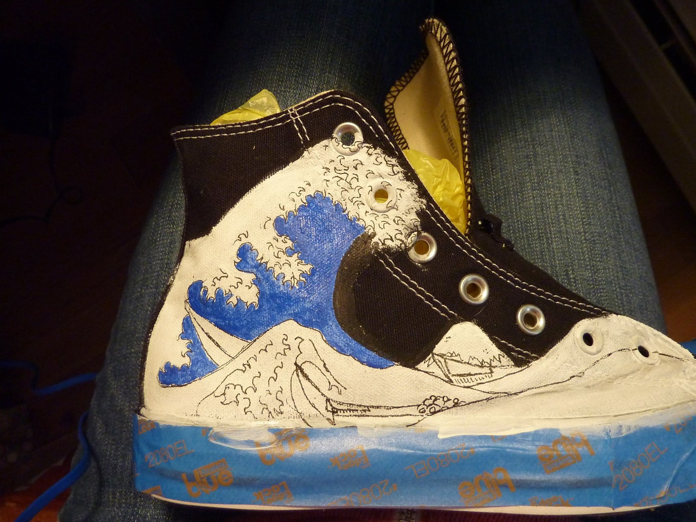 Coloring Your Shoes