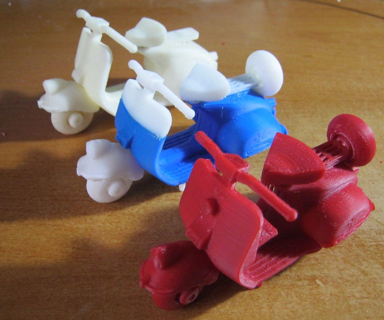 3D Printed Classic Vespa