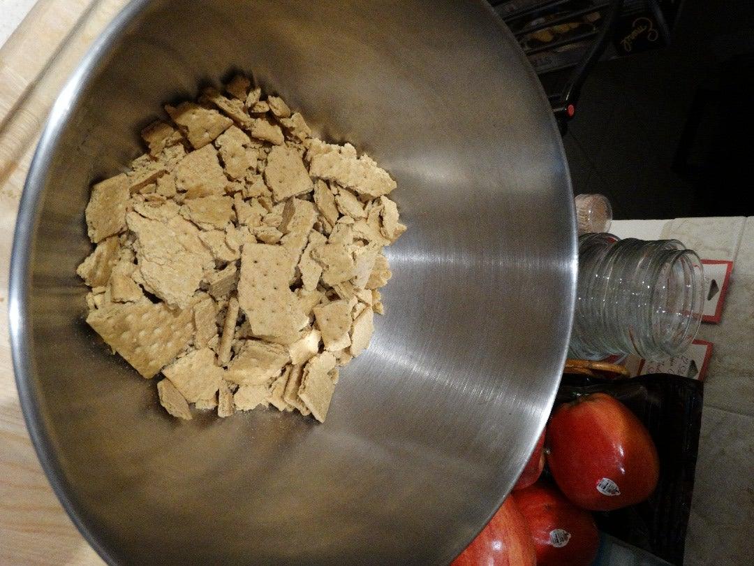 Mix Crust Ingredients...