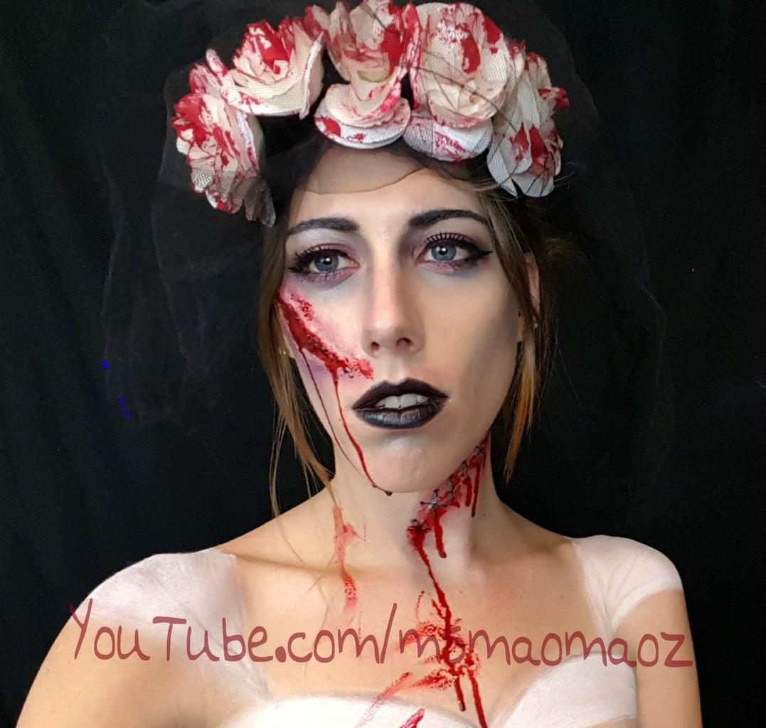 Dead Bride SFX Makeup