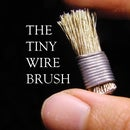 The tiny wire brush