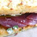 Purple Zucchini Sandwich