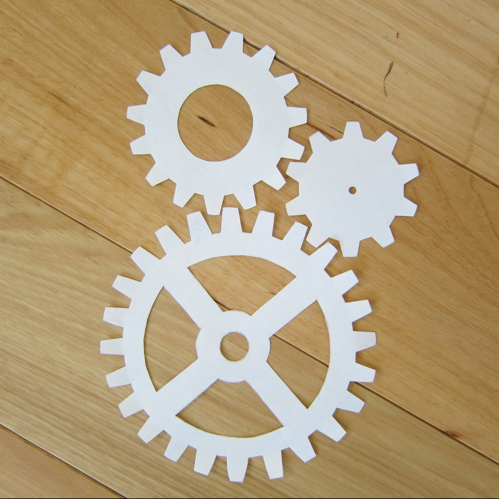 Draw and Cut Gears