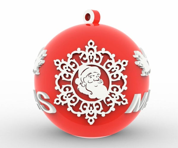 Christmas Decoration With 3D Printing