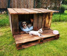 Build a Doghouse With Palletwood