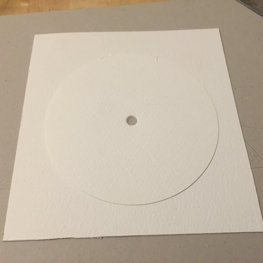 Cut a Circle of Card