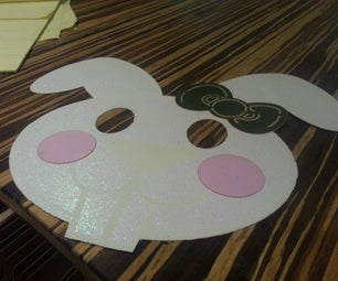 Making a Paper Bunny Mask on the Laser
