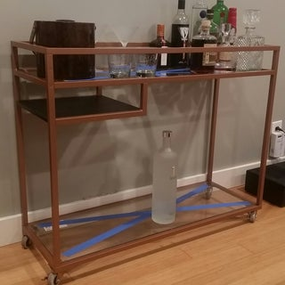 Ikea Hack Bar Cart - Vittsjo