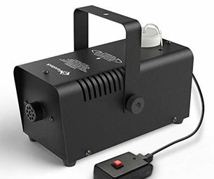 Arduino Fog Machine Timer