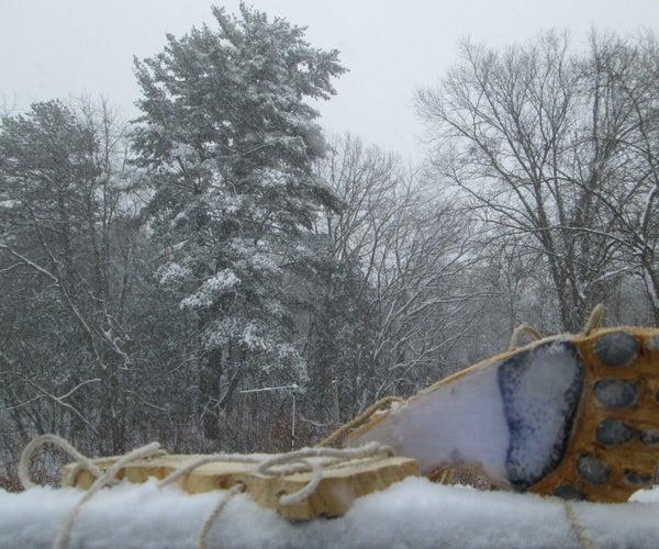 Yeti Feet- Make Yeti Footprints in the Snow!