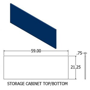 Drawing - Storage Cabinet