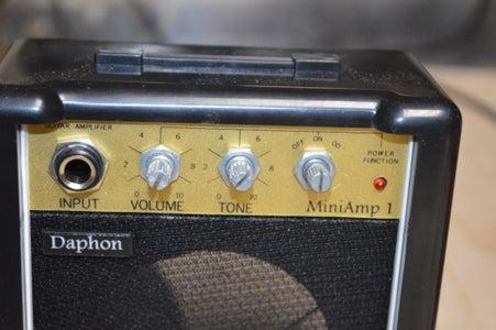 Taking Apart the Mini Amp