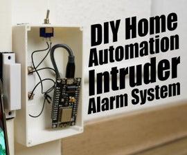 DIY Home Automation Intruder Alarm System!