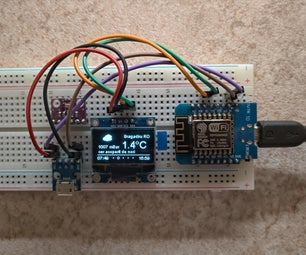 Another ESP8266 Weather Station
