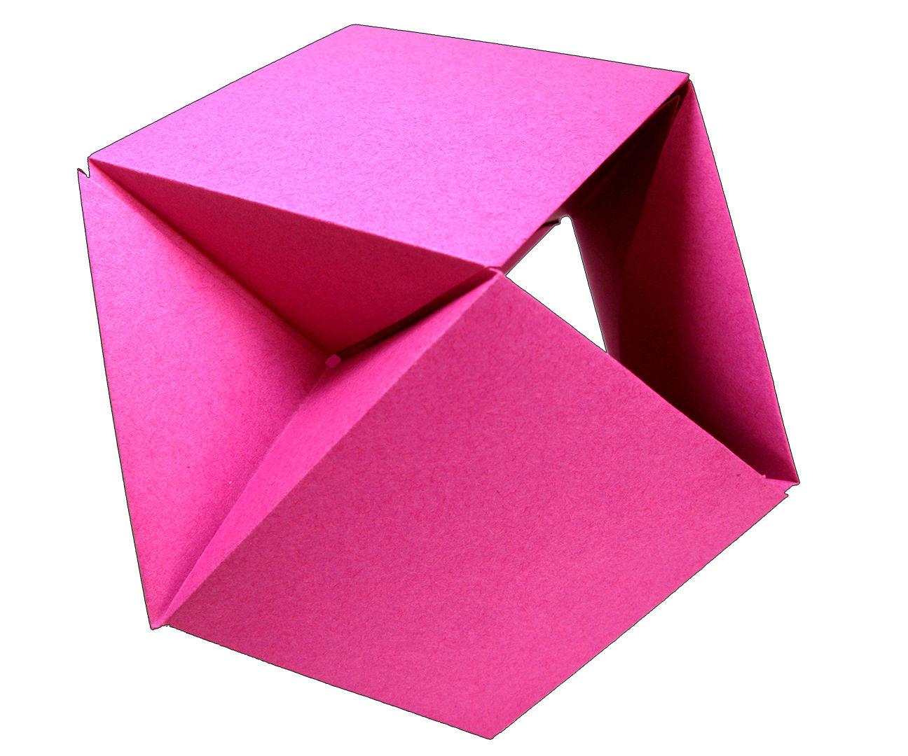 Modular Origami Ball Tutorial - 6 Units