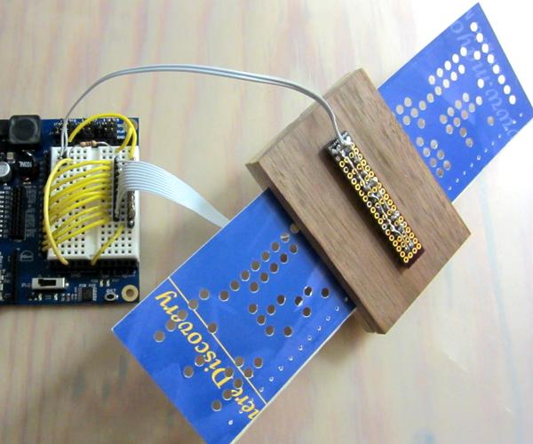 DIY Paper Tape/Punch Card Maker and Reader