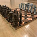 Metallic Chess Set