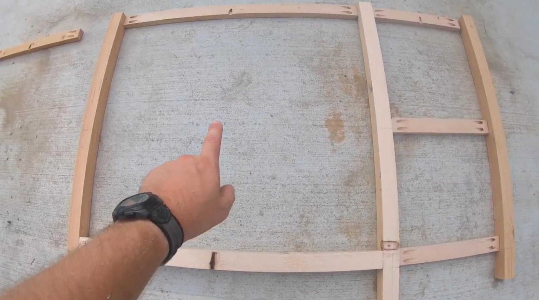 Assemble the Back of the Desk