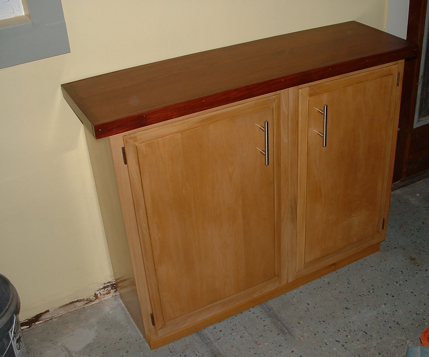 Construct a Sideboard From Kitchen Wall Cabinets