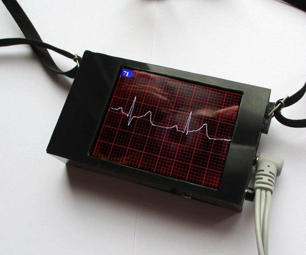 ECG Display With Arduino