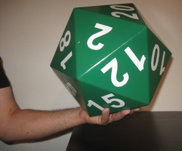 Plywood Icosahedron