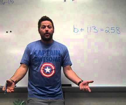 How to Do Basic Algebra for Middle School Students