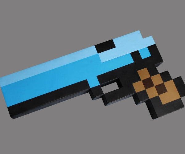 Pixel Minecraft Nerf