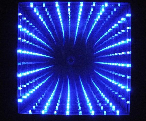 "10"" X 10"" LED Infinity Mirror"
