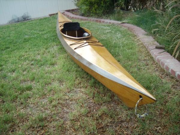 Stitch and Glue Kayak