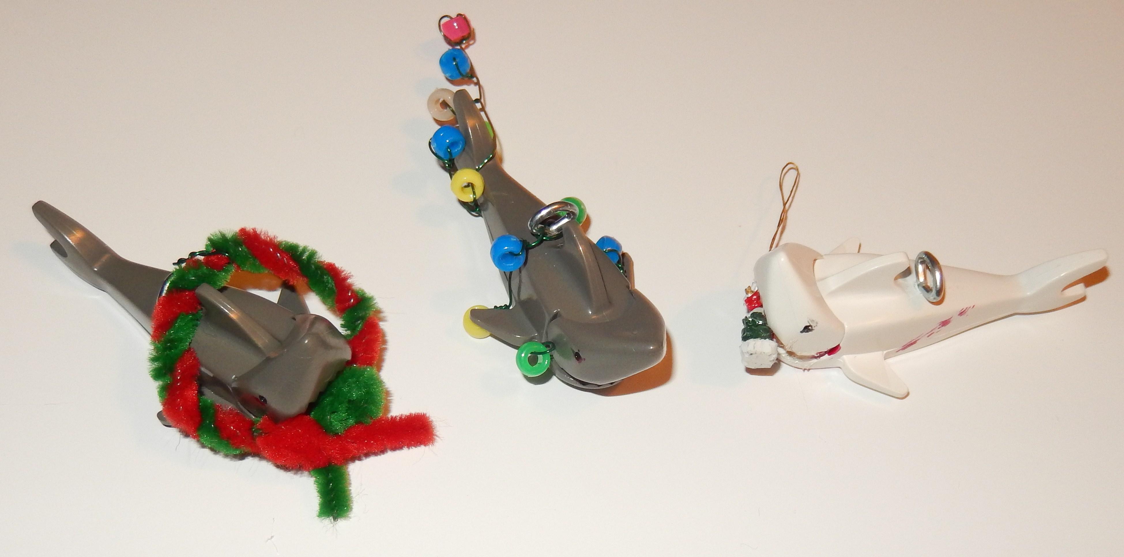 Shark ornaments